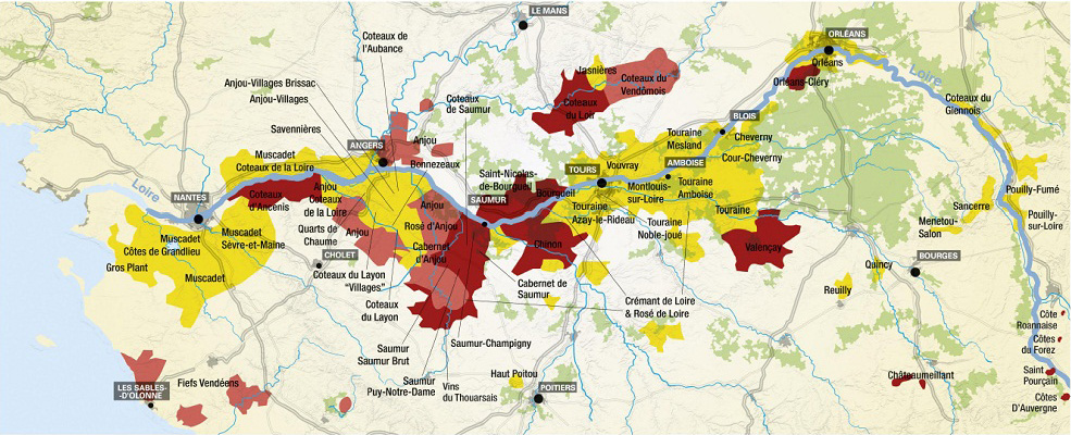 Pays-de-Loire-carte-vignoble